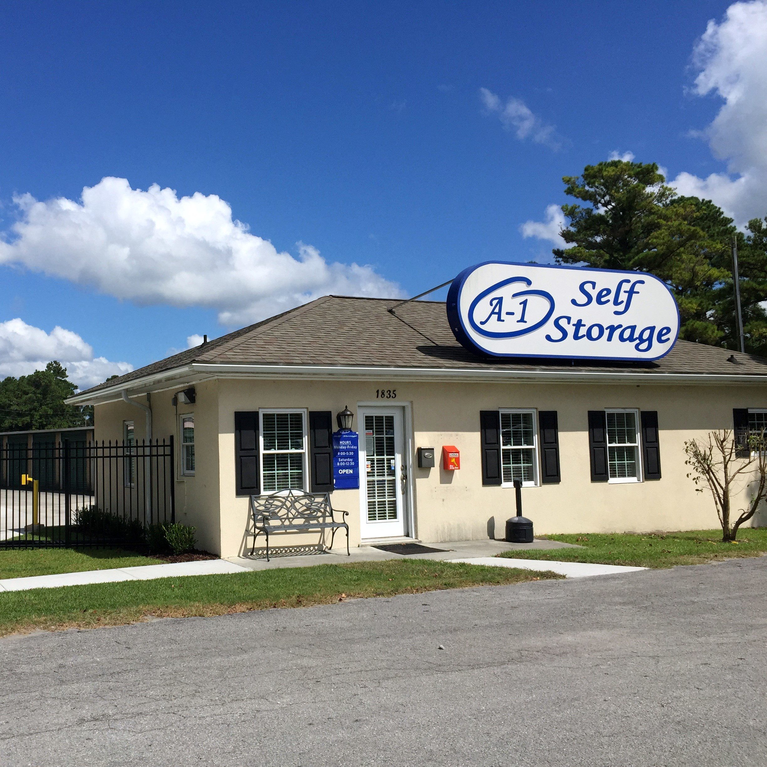 A 1 Self Storage Winston Salem Jacksonville Wilmington NC